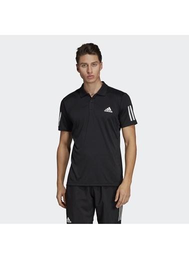 adidas adidas DU0848 CLUB 3STR POLO Erkek PoloT-Shirt Siyah
